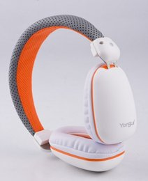EP10 Wired Stereo Headphones Soft Leather Earphone Handsfree Headband Noise Cancelling Built-in Mic for Phone Tablet Computer