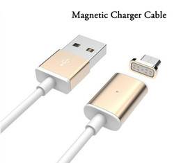 Magnetic Charger Cable Original Quick Charging Metal Micro USB Sync Cable Cablel for Samsung Galaxy s7 S6 edge s5 Note5 Andriod Phone.