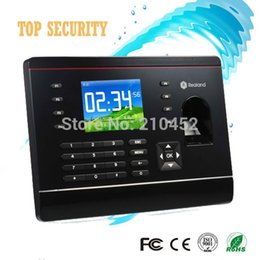 Wholesale TCP IP fingerprint time attendance with RFID card reader inch color screen with free Spanish English software