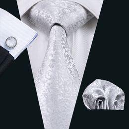 Fashion Flower Printed Casual Brand Silver Ties For Men Suits Vintage Corbatas Suits Necktie Silk Floral Party Ties N-1126
