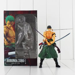 Anime One Piece Roronoa Zoro 18cm PVC Action Figure Collectable Model toy free shipping high quality