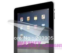 Wholesale 4000pcsclear Screen Protector LCD PROTECT Guard for Apple iPad IPAD ipad Tablet withopp bag packing