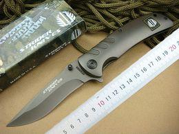 New Arrival Strider knives 318 Survival folding knife 440C 57HRC Titanium Blade knife Outdoor EDC pocket knives