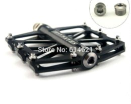 Wholesale 1pair cycling Bicycle Titanium Ti color pedals End cap nut for SMS VP LP HT wellgo Pedal cover Mountain MTB