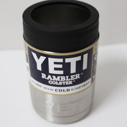 Wholesale 12 oz Can Yeti Stainless Steel Colster Yeti Coolers Rambler Colster YETI Cups Cars Beer Mug
