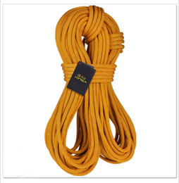 Wholesale XINDA mm KN Static Rope Safety Climbing Mountaining Ropes Rappelling Camping Cord Imported DuPont Wire Safety Equipments