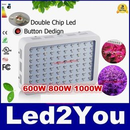 Wholesale Full Spectrum Led Grow Lighting W W W Medical Plants LED Grow Lights Panel Designed With Newsest W Double Chips LEDs
