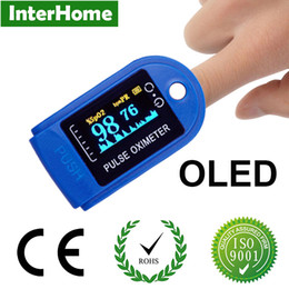 Wholesale 2016 OLED Digital Finger Pulse Rate Oximeter Blood Oxygen Spo2 Oxymeter Saturation Oxymetre Pulsioximetro De Pulso Dedo Oximeter