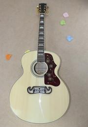 Descuento guitarra corte envío libre Al por mayor de encargo de la tienda de aves Cutaway Tapa de abeto Burlywood palisandro Fishman 101/301 guitarra eléctrica acústica de envío gratuito