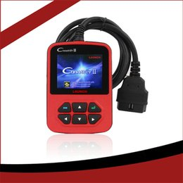 Wholesale Launch X431 Creader S Code Reader Latest OBD2 Original Plastic Launch EU American Version Cars Scan Tools