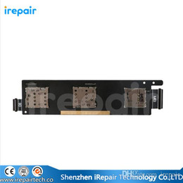 Wholesale iRepair For ASUS Zenfone SIM Card Slot amp Memory SD Card Reader Socket Holder Original Repair Replacement Parts