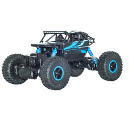Wholesale RC Car G CH WD Rock Crawlers x4 Driving Car Double Motors Drive Bigfoot Car Remote Control Car Model Toy car
