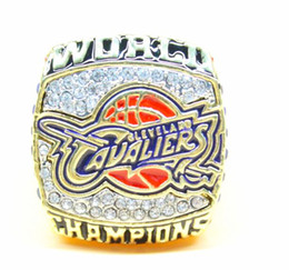 Wholesale PreSale National Basketball Championship Ring for fans with beautiful ring case