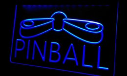 Ls292-b Pinball Game Room Display Decor Neon Light Sign