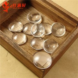 8MM 10MM 12MM 14MM 15MM 16MM 18MM 20MM 25MM 30MM wholesale clear glass cabochon cover, round beads glass domes sticker for blank pendant