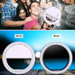Wholesale 36PCS LEDS LED selfie flash Ring Light for iPhone Samsung Galaxy Blackberry Bold Touch Sony Xperia Motorola Droid and Other Smart Phones