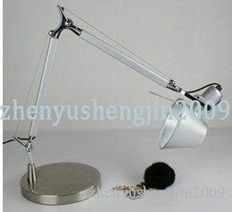 Wholesale metal table lamp modern desk lamp mechanical table lighting height and direction adjustable design by Michele De Lucchi