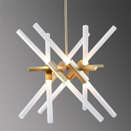 Wholesale Creative Agnes Chandelier Post modern Art Roll Hill Lighting Fixture Living Room Office Hotel Project Light
