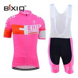 Wholesale 2016 New BXIO Brand Fluorescent Cycling Jersey Women Bicicleta Short Sleeve Summer Bikes Clothes marchio di biciclette manica corta