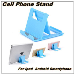 Wholesale Phone Stand Multi Angle Adjustable Portable Foldable Folding Universal Lazy Desktop Cell Phone Cradles Stands Mounts Holder