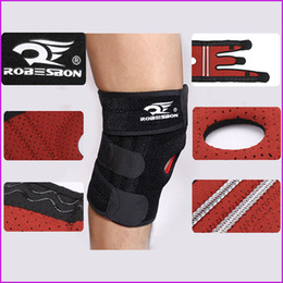 4 Spring Support Adjustable Sports Knee Pads Football Basketball Volleyball Leg Knee Support Brace Patella Guard Protector Pads