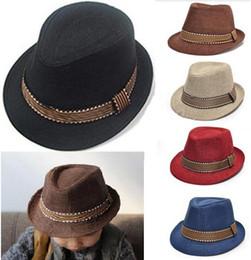 2016 New Fashion Kids Boy Girl Unisex Fedora Hat Contrast Trim Cool Jazz Hat Trilby Cap Newborn Photography Prop Trilby