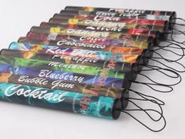 Shisha humo de colores en venta-colorido 500puffs Shisha pluma desechable E cigarrillos fumar pipa de agua de tuberías 280mAh somke palillo cigarrillos electrónicos fumar shisha electrónica