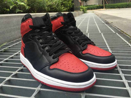 Wholesale Drop Shipping Retro OG High Banned Bred For Men Basketball Sport Shoes Ship ships out within days With Box