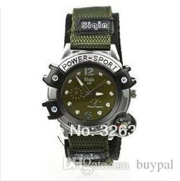 Reloj del ejército suizo deporte militar en venta-La venta al por mayor 4 colores NUEVOS hombres frescos del verano se divierte la pulsera trenzada tela suiza del reloj del ejército del ejército de la correa el reloj militar suizo RJ3006 0416dd del piloto del ejército