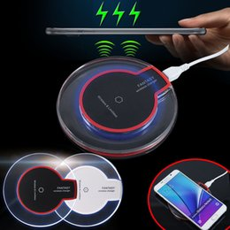 New Wireless Charger Pad + Qi Charging Receiver For Apple iPhone 5 5S 6 6S Plus With Retail Package