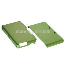 Xbox duro en venta-Verde Anti-choque de aluminio duro Metal Box Cover Case Shell para Nintendo 3DS Consola shell caja de cinta de la caja