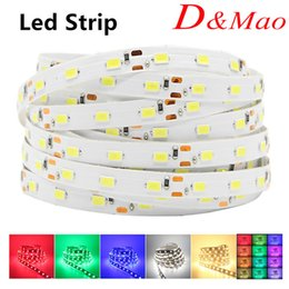 Wholesale Best Price LED Strip Light SMD Red Blue White Warm Yellow Green Single color Non Waterproof Led Ribbon V