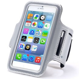 Wholesale Waterproof Sport Armband Case for iphone s plus Gymnasium Activities Accessories Running Phone Pouch Cover Arm Band