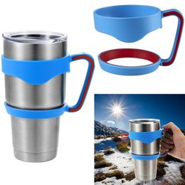Wholesale In stock Cups Handle for oz YETI stainless steel tumbler Rambler Tumbler YETI Cooler coffee mug