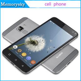 8gb tactile en Ligne-Bluboo Xfire 2 Touch ID Fingerprint Scanner Smart Phone MTK6580 Quad core 1 Go de RAM 8GB ROM Android 5.1 Lollipop 8.0MP Smartphone
