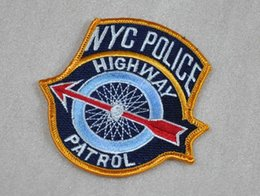 Wholesale New York City NYPD highway HIGHWAY PATROL armband badges