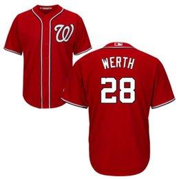 Washington Nationals Werth #28 Men's Game Cool Base Jersey