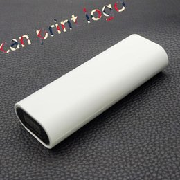 Wholesale 50pcs Smart Power Bank battery box LCD charger Device Portable charger with Protective Circuit print logo
