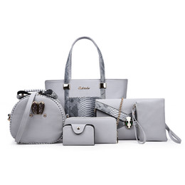 Wholesale high quality fashion bags set kit classic snake embossed crocodile pattern trend texture lady shoulder bag designer handbag