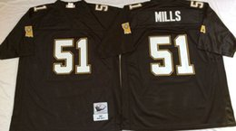 Wholesale Cheap Throwback Saints Jerseys Bobby Hebert Morten Andersen Sam Mills Rickey Jackson Black M N Jerseys Size