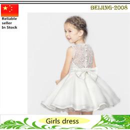 Nouvelles robes de filles de noël en Ligne-Enfants bébé Robes pour fêtes d'anniversaire Robes de Noël Robes de soirée pour bébés Nouvel arrivé bébé vêtements pour enfants