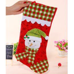Wholesale 2016 Christmas Stocking S18 large CM box Christmas socks Meng husband fair Eve decorating baby bed ornaments Gift Socks Christmas