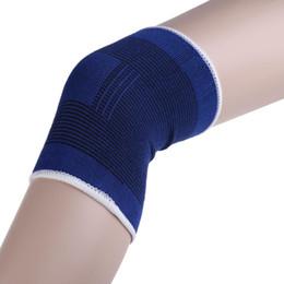 Wholesale Knee Support Brace Leg Arthritis Injury Gym Sleeve Elasticated Bandage Pad EMS DHL New Arrival Promotion