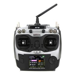 Radiolink AT9 Transmisor Receptor 9 Canal 2.4Ghz RC Control Remoto para DIY FPV Drone RC Hobby Helicóptero Avión Planeador desde planeadores de bricolaje proveedores
