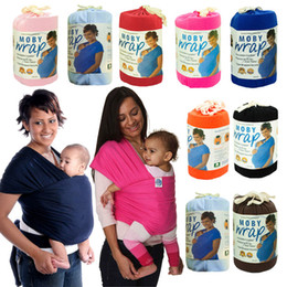 PrettyBaby 2016 Multifunctional Infant Breastfeed Sling Baby Stretchy baby Wrap Carrier Backpack Bag kids Breastfeeding Cotton Hipseat