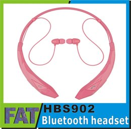 Bluetooth Headsets HBS 902 Neckbands Wireless Stereo Earphones Bluetooth 4.0 Sport Headphone for HBS902 HBS-902 Headsets