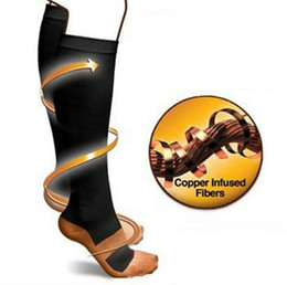 1pair Miracle Copper Anti-Fatigue Compression Socks Tired Achy Unisex Women Men Anti Fatigue Magic socks
