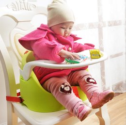 Wholesale Portable Seat Feeding Seat Solid Dining Chair Infant Toddler Baby Lunch Chair Safety Belt Feeding Accessory