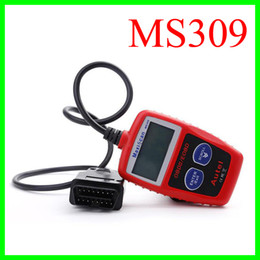 Wholesale MaxiScan MS309 Autel OBD Code Scanner OBD II EOBD Scan Tool Car Code Reader Fault Diagnosis Instrument For Vehicle Detection Instrument