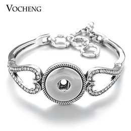 VOCHENG NOOSA Ginger Snap Bracelet Toggle-clasps 18mm Interchangeable Button Jewelry NN-441